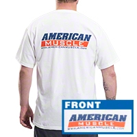 AmericanMuscle T-Shirt (Large) - AM Accessories 36149-C
