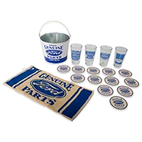 Ford Genuine Parts Pint Glass Set - Ford FRD-48700