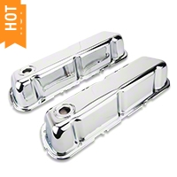 Chrome Valve Covers (289, 302, 351W) - AM Exterior 9804