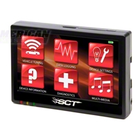 SCT TSX Touch-Screen Preloaded Tuner (11 GT) - SCT 8900||38028