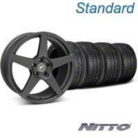 Matte Black Forgestar CF5 Monoblock Wheel & Nitto Invo Tire Kit - 18x9 (05-14 All) - Forgestar KIT||29602||79522