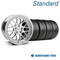 Chrome TSW Valencia Wheel & Sumitomo Tire Kit - 18x8 (94-98 All) - TSW KIT||33778||63029