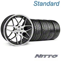 Black Machined Niche Mugello Wheel & NITTO Tire Kit - 20x8.5 (05-14 All) - Niche KIT||32830||76005