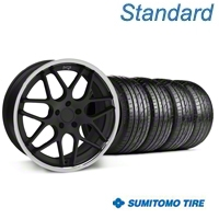 Matte Black Niche Mugello Wheel & Sumitomo Tire Kit - 20x8.5 (05-14 All) - Niche KIT||32832||63024
