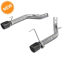 Pypes Muffler-Delete Axle-Back Exhaust - Black (05-10 GT, GT500) - Pypes SFM62SSB