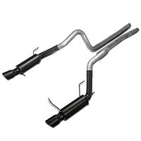 MBRP Race Series Catback Exhaust - Black Tips (11-14 GT) - MBRP S7264BLK