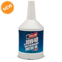 Red Line Synthetic 10w40 Motor Oil - Red Line 11404