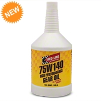 Red Line Synthetic 75w140 Gear Oil - Red Line 57914