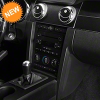 Brushed Black Dash Overlay Kit (05-09 All) - AM Interior 383739