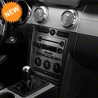 Brushed Silver Dash Overlay Kit (05-09 All) - AM Interior 383740