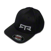 RTR Flex-Fit Hat - Black - RTR 1398-7506-01||1398-7507-01