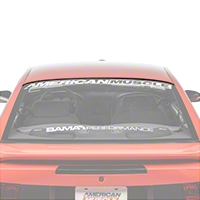 Ford Rear Upper Window Glass Molding (94-04 All) - Ford F4ZZ6342430BAM
