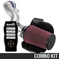C&L Cold Air Intake w/ 80mm MAF & Bama X4 Tuner (96-01 GT) - Bama 384009