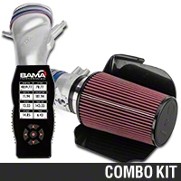 C&L Cold Air Intake w/ 80mm MAF & Bama X4 Tuner (96-98 Cobra) - Bama 384010