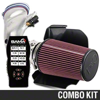C&L Cold Air Intake w/ 80mm MAF & Bama X4 Tuner (01 Bullitt) - Bama 384012