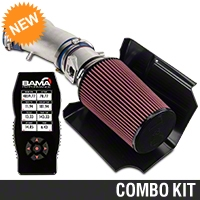 C&L Cold Air Intake w/ 95mm MAF & Bama X4 Tuner (03-04 Cobra) - Bama 384015
