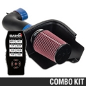 C&L Racer Cold Air Intake w/ 95mm MAF & Bama X4 Tuner (05-09 GT) - Bama 384016