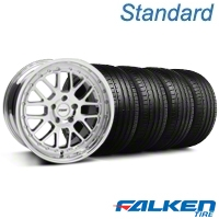 TSW Valencia Chrome Wheel & Falken Tire Kit - 18x8 (99-04 All) - American Muscle Wheels KIT||33778||79560||mb1