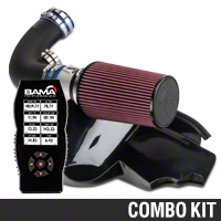 C&L Cold Air Intake w/ 95mm MAF & Bama X4 Tuner (10 GT) - Bama 384021