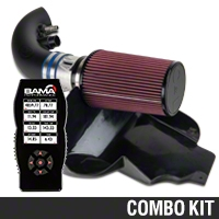 C&L Street Cold Air Intake w/ 95mm MAF & Bama X4 Tuner (11-14 GT) - Bama 384022