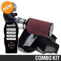 C&L Racer Cold Air Intake w/ 95mm MAF & Bama X4 Tuner (11-14 GT) - Bama 384023