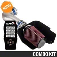 C&L Street Cold Air Intake w/ 83mm MAF & Bama X4 Tuner (05-09 GT) - Bama 384028