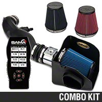 Airaid CAI - SynthaMax Dry Filter & Bama X4 Tuner (99-04 GT) - Bama 384047-A||384047-B||384047-C