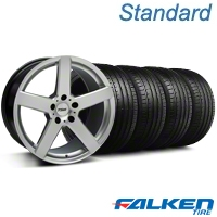 TSW Rivage Hyper Silver Wheel & Falken Tire Kit - 18x8 (99-04 All) - TSW KIT||33591||79560||mb1