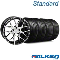 TSW Nurburingring Gunmetal Wheel & Falken Tire Kit - 18x8 (99-04 All) - American Muscle Wheels 79560||mb1||27351||KIT