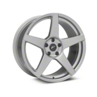 Forgestar CF5 Monoblock Silver Wheel - 19x9.5 (05-15 All) - Forgestar TBD