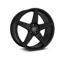 Forgestar CF5 Monoblock Matte Black Wheel - 20x9.5 (2015 All) - Forgestar TBD