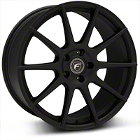 Forgestar CF10 Monoblock Textured Matte Black Wheel - 19x9.5 (2015 All) - Forgestar TBD