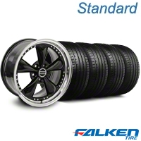 Bullitt Motorsport Black Wheel & Falken Tire Kit - 18x9 (94-98 All) - American Muscle Wheels KIT||79560||mb1||10082
