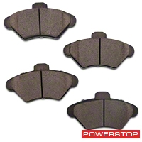Power Stop Z23 Evolution Sport Ceramic Brake Pads - Front Pair (94-98 GT, V6) - Power Stop Z23-600