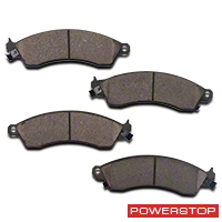 Power Stop Z23 Evolution Sport Ceramic Brake Pads - Front Pair (94-04 Bullitt, Mach 1, Cobra) - Power Stop Z23-412