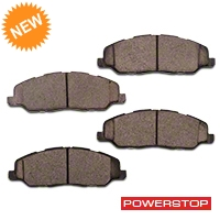 Power Stop Z23 Evolution Sport Ceramic Brake Pads - Front Pair (11-14 GT, V6) - Power Stop Z23-1463