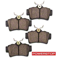 Power Stop Z23 Evolution Sport Ceramic Brake Pads - Rear Pair (94-04 GT, V6) - Power Stop Z23-627