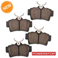 Power Stop Z23 Evolution Sport Ceramic Brake Pads - Rear Pair (94-04 Bullitt, Mach 1, Cobra) - Power Stop Z23-627A