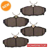 Power Stop Z23 Evolution Sport Ceramic Brake Pads - Rear Pair (11-14 All) - Power Stop Z23-1465