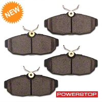 Power Stop Z23 Evolution Sport Ceramic Brake Pads - Rear Pair (05-10 All) - Power Stop Z23-1082