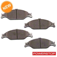 Power Stop Z26 Extreme Performance Ceramic Brake Pads - Front Pair (99-04 GT, V6) - Power Stop Z26-804