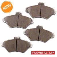 Power Stop Z26 Extreme Performance Ceramic Brake Pads - Front Pair (94-98 GT, V6) - Power Stop Z26-600