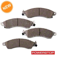 Power Stop Z26 Extreme Performance Ceramic Brake Pads - Front Pair (94-04 Bullitt, Mach 1, Cobra) - Power Stop Z26-412