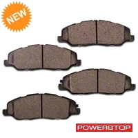 Power Stop Z26 Extreme Performance Ceramic Brake Pads - Front Pair (11-14 GT, V6) - Power Stop Z26-1463