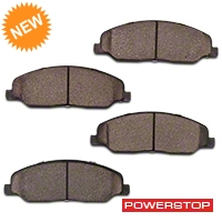 Power Stop Z26 Extreme Performance Ceramic Brake Pads - Front Pair (05-10 GT, V6) - Power Stop Z26-1081
