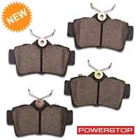 Power Stop Z26 Extreme Performance Ceramic Brake Pads - Rear Pair (94-04 GT, V6) - Power Stop Z26-627