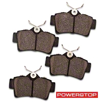 Power Stop Z26 Extreme Performance Ceramic Brake Pads - Rear Pair (94-04 Bullitt, Mach 1, Cobra) - Power Stop Z26-627A
