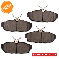 Power Stop Z26 Extreme Performance Ceramic Brake Pads - Rear (11-14 All) - Power Stop Z26-1465