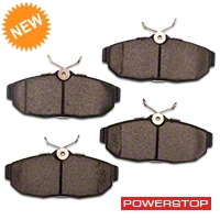 Power Stop Z26 Extreme Performance Ceramic Brake Pads - Rear Pair (05-10 All) - Power Stop Z26-1082