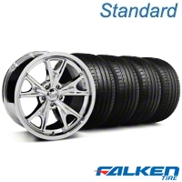 Daytona Chrome Wheel & Falken Tire Kit - 18x9 (94-98 All) - American Muscle Wheels KIT||27215||79560||mb1